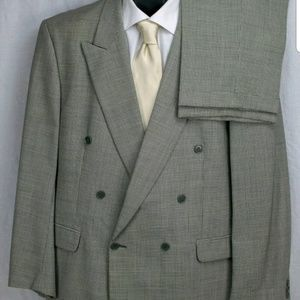 Men's Hounds tooth suit-48